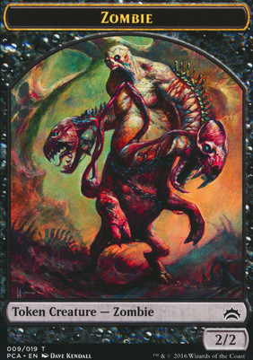 Planechase Anthology: Zombie Token - Hellion Token