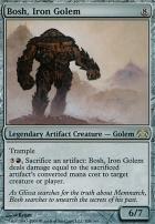 Planechase: Bosh, Iron Golem