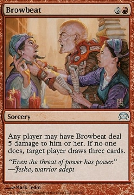 Planechase: Browbeat