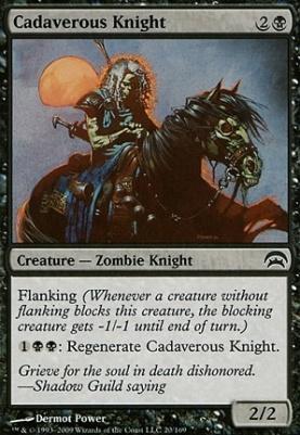 Planechase: Cadaverous Knight