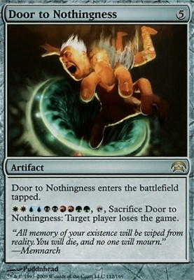 Planechase: Door to Nothingness