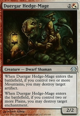 Planechase: Duergar Hedge-Mage