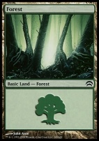 Planechase: Forest (165 A)
