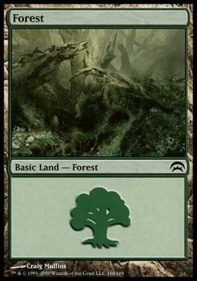 Planechase: Forest (166 B)