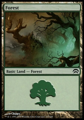 Planechase: Forest (167 C)