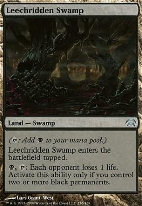 Planechase: Leechridden Swamp