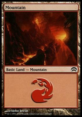 Planechase: Mountain (157 B)