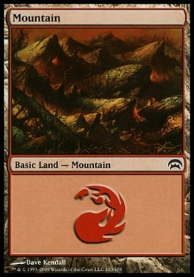 Planechase: Mountain (163 H)