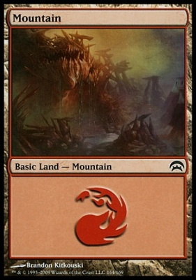 Planechase: Mountain (164 I)