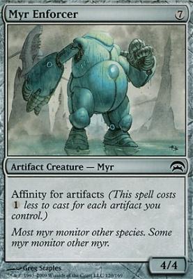 Planechase: Myr Enforcer