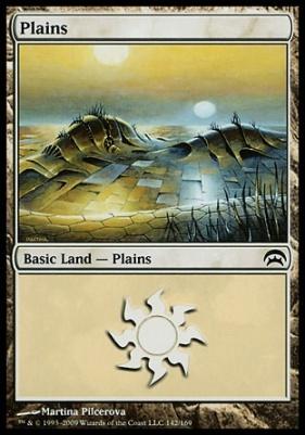 Planechase: Plains (142 A)