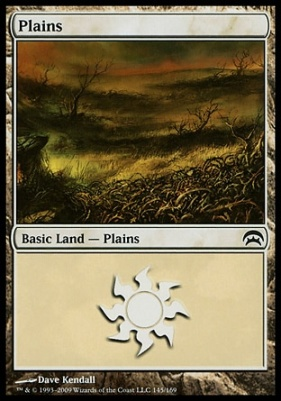 Planechase: Plains (145 D)