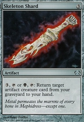 Planechase: Skeleton Shard