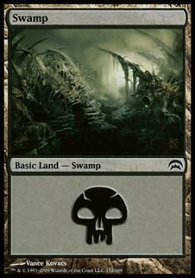 Planechase: Swamp (152 B)