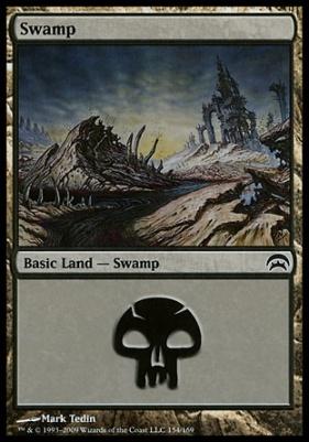 Planechase: Swamp (154 D)
