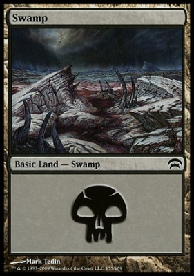 Planechase: Swamp (155 E)