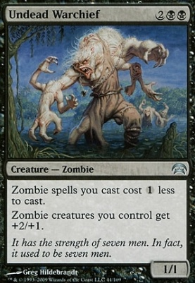 Planechase: Undead Warchief