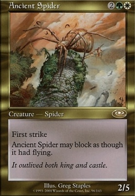 Planeshift Foil: Ancient Spider