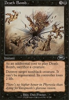 Planeshift Foil: Death Bomb