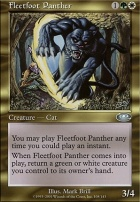 Planeshift Foil: Fleetfoot Panther
