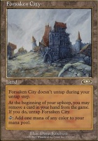 Planeshift Foil: Forsaken City