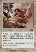 Planeshift Foil: Honorable Scout