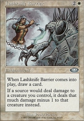 Planeshift Foil: Lashknife Barrier