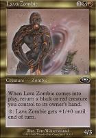 Planeshift: Lava Zombie
