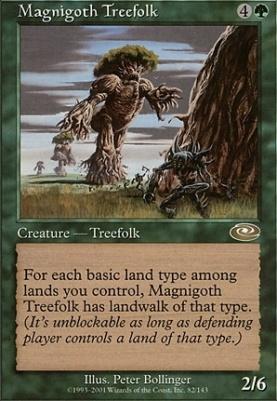 Planeshift Foil: Magnigoth Treefolk