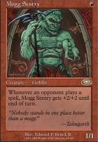 Planeshift Foil: Mogg Sentry