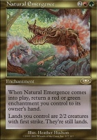 Planeshift Foil: Natural Emergence