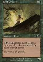 Planeshift Foil: Root Greevil
