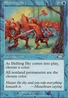 Planeshift Foil: Shifting Sky
