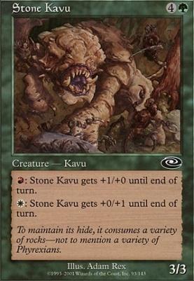 Planeshift Foil: Stone Kavu