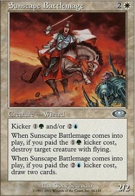 Planeshift Foil: Sunscape Battlemage