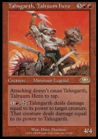 Planeshift: Tahngarth, Talruum Hero