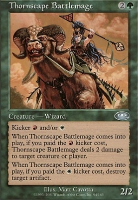 Planeshift Foil: Thornscape Battlemage