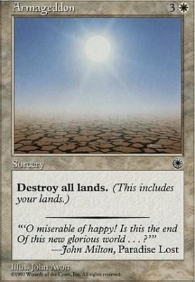 Mtg cards portal armageddon for Portent gatherer