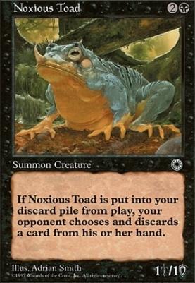 Portal: Noxious Toad