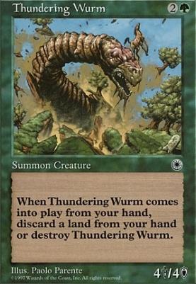 Portal: Thundering Wurm