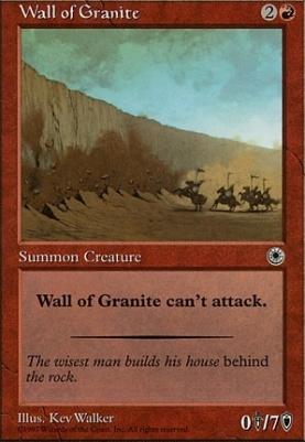 Portal: Wall of Granite