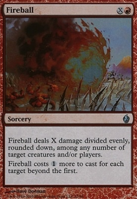 Premium Deck Series: Fire & Lightning: Fireball