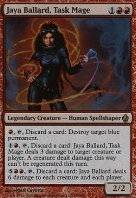 Premium Deck Series: Fire & Lightning: Jaya Ballard, Task Mage