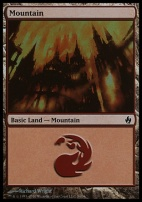 Premium Deck Series: Fire & Lightning: Mountain (34 D)