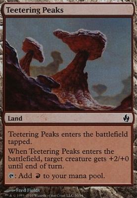 Premium Deck Series: Fire & Lightning: Teetering Peaks