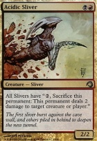 Premium Deck Series: Slivers: Acidic Sliver