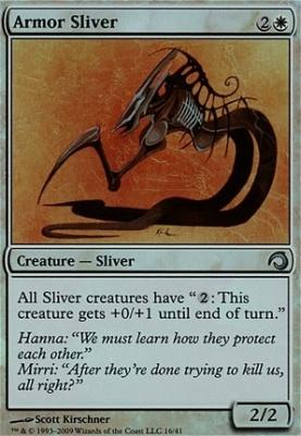Premium Deck Series: Slivers: Armor Sliver