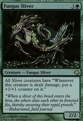 Premium Deck Series: Slivers: Fungus Sliver