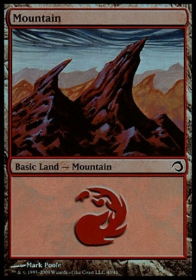 Premium Deck Series: Slivers: Mountain (40)