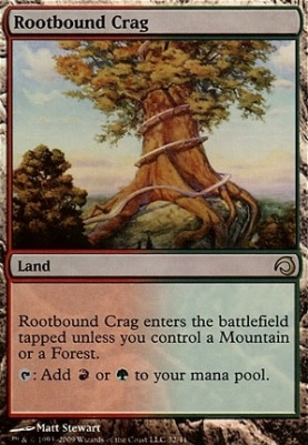 Premium Deck Series: Slivers: Rootbound Crag